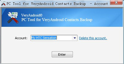 Transfer contacts from previous android phone to new android