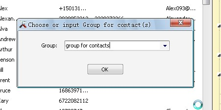 create contact group for android on computer