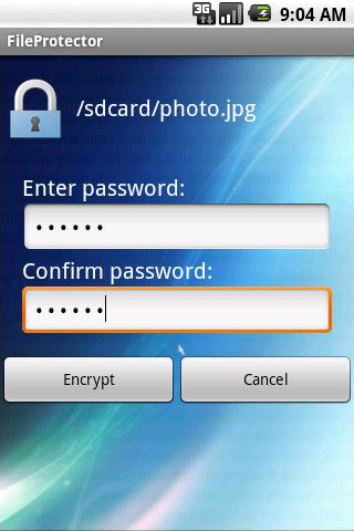 How to password protect files folders on Android phone